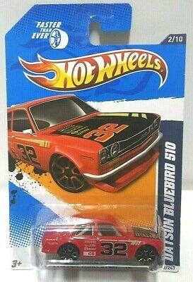 2012 Hot Wheels Faster Than Ever Datsun Bluebird 510 Red 92