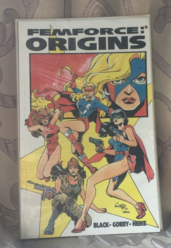 Femforce Orgins Comic 1997 Bill Black Gorby Heike