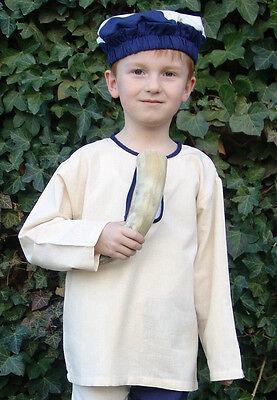 Mittelalterhemd für Kinder - Hemd Jungen Mittelalter