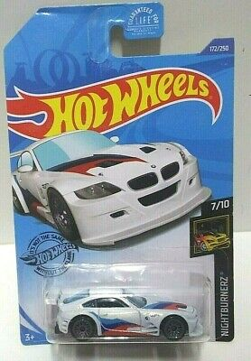 2020 Hot Wheels Nightburnerz BMW Z4 M Motorsport White 172 PLEASE READ