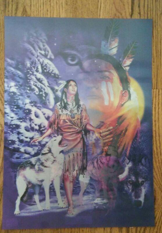 Wolf Spirit  Lenticular art print