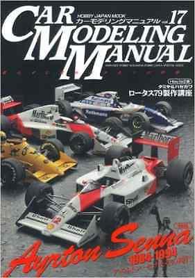 Car Modeling Manual Ayrton Senna 1984-1994 book Lotus Mclaren Honda Willams