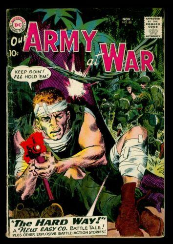 DC Comics Our ARMY At WAR #88 SGT. ROCK GD 2.0