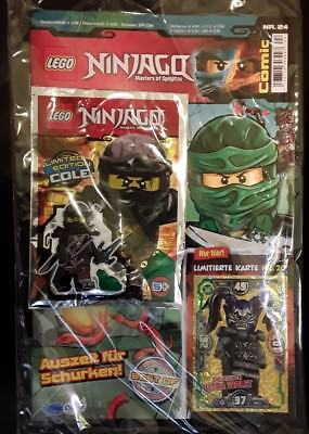 Lego Ninjago Comic Nr. 24 inkl. LE20 - minifigur Cole - Limited Edition - NEU
