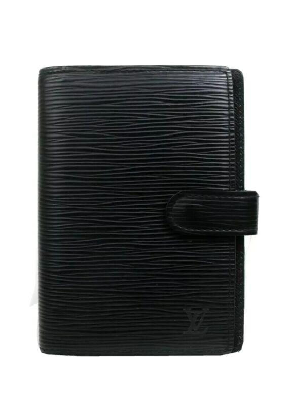Louis Vuitton EPI black Agenda PM