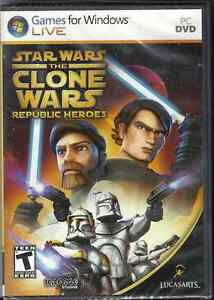 Star Wars: The Clone Wars -- Republic Heroes  (PC, 2009)