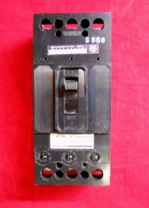 SIEMENS FJ3-M150 Circuit Breaker 3P 150A 600V 50 deg rated fj3-b150 - New In Box