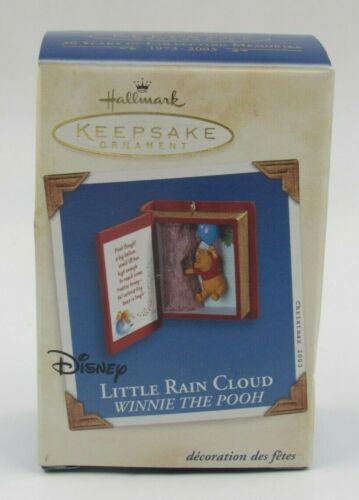 """Hallmark Keepsake Winnie the Pooh """"Little Rain Cloud"""" Ornament Dated 2003"""