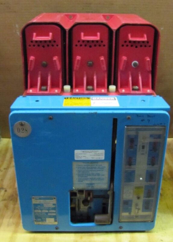 Bbc Lke 8 Lke8 0a 800a 800 A Amp 600v Low Voltage Power Breaker W/ Lss4 Trip