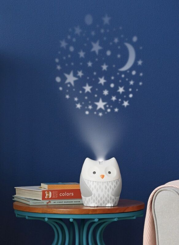 Skip Hop Moonlight & Melodies Nightlight Baby Sleep Soother Owl - 186300