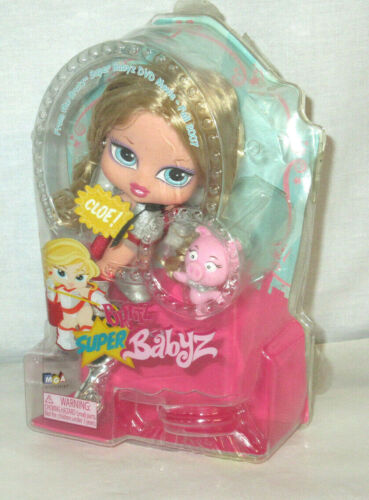 MGA Bratz Super Babyz Cloe & Pig new in box free shipping