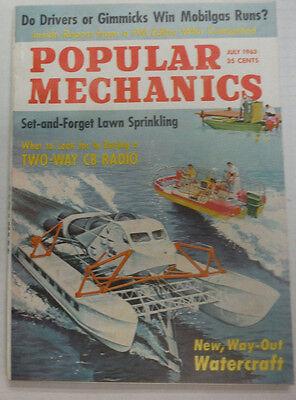 Popular Mechanics Magazine Watercraft & Mobilgas Runs July 1963 043015R2