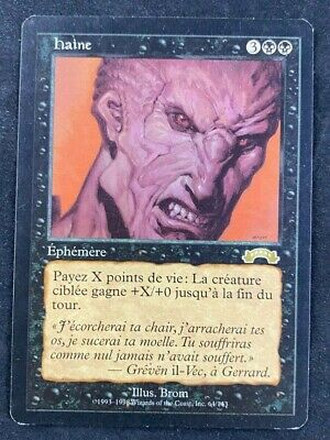 MTG Magic The Gathering Hatred Exodus French LP