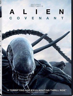 New   Alien  Covenant  Dvd 2017  New Horror  Thriller  Now Shipping