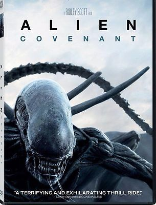 Alien: Covenant ((DVD 2017) NEW *Horror, Thriller* NOW SHIPPING !!!!