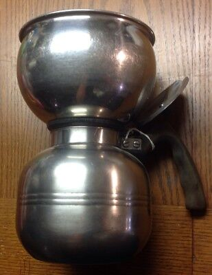 Vintage Nicro Chicago Stainless Steel Vacuum Coffee Maker Pot