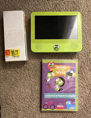"PBS Kids Playtime Tablet DVD Player Android 7.0 Naugat 7"" Kids Safe Tablet"