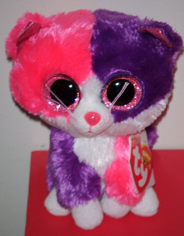 Ty Beanie Boos - PELLIE the Cat (6 Inch)(Claire