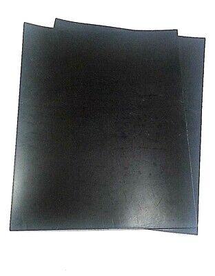 Neoprene Rubber Sheet -2 Pcs- 132 Thick X 8 X 8 Square Pad 60 Duro Std