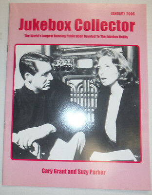 (Jukebox Collector Magazine Cary Grant And Suzy Parker January 2006 032315R)