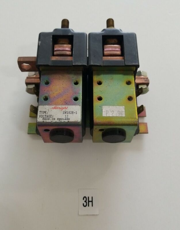 *PRE-OWNED* ALBRIGHT SW182B-1, 12V Contactor + FAST SHIPPING!