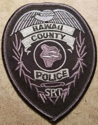 HI Hawaii County Hawaii SRT Police Patch
