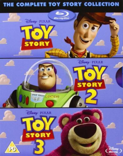 TOY STORY TRILOGY  Complete 1 2 3 Disney & Pixar All 3 Movie