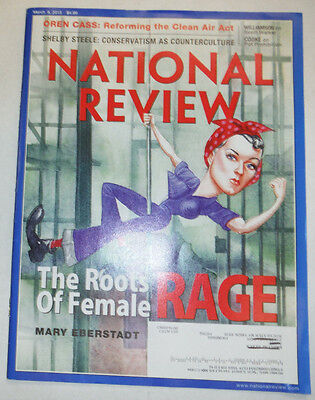 National Review Magazine Mary Eberstadt Shelby Steele March 2015 031915R2