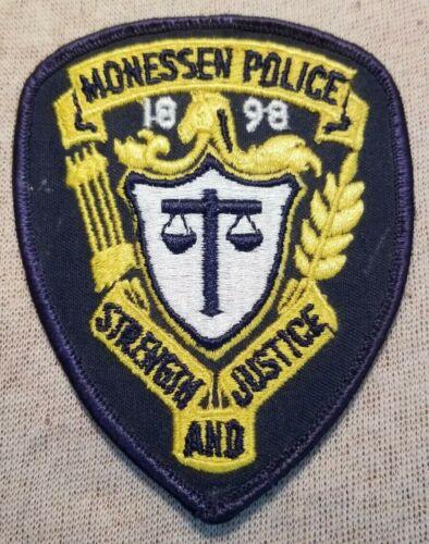 PA Monessen Pennsylvania Police Patch