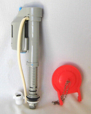 Best European Toilet Fill Valve with filtered 7/8 adapter & 3