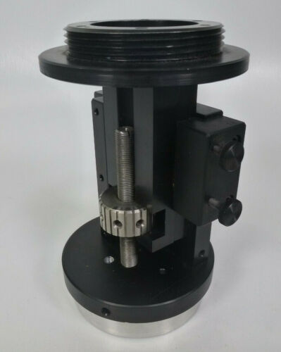 Screw Lift Vertical Adjustable Base - Survey Tripod Adapter / Optical Alignment