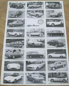 * Alfa Romeo Giulia GTA TZ SZ Giulietta Bertone Spider Poster * - <span itemprop=availableAtOrFrom>Bregenz, Österreich</span> - Widerrufsbelehrung Widerrufsrecht Sie können Ihre Vertragserklärung innerhalb von einer Woche nach Erhalt der Ware ohne Angabe von Gründen in Textform (z. B. Brief, E-Mail) oder - wenn Ih - Bregenz, Österreich