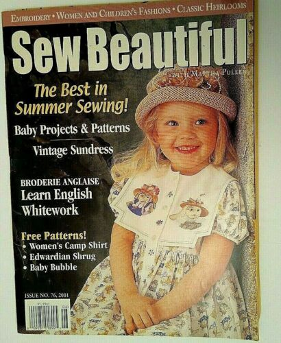 Sew Beautiful Issue 76/ 2001