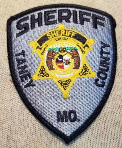 MO Taney County Missouri Sheriff Patch