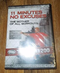 Details about body by jake tower 200 11 minutes no excuses dvd