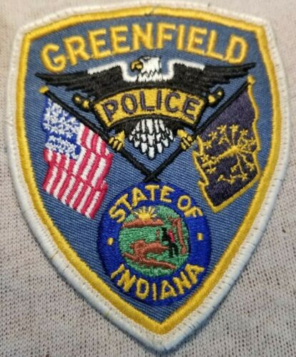 IN Greenfield Indiana Police Patch