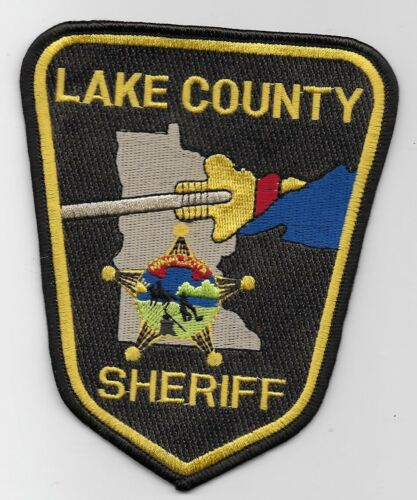 Lake County Sheriff State Minnesota MN Colorful