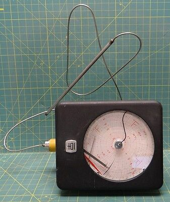Used Partlow Temperature Control Chart Recorder Model Rdwc-j590 With Temp. Probe