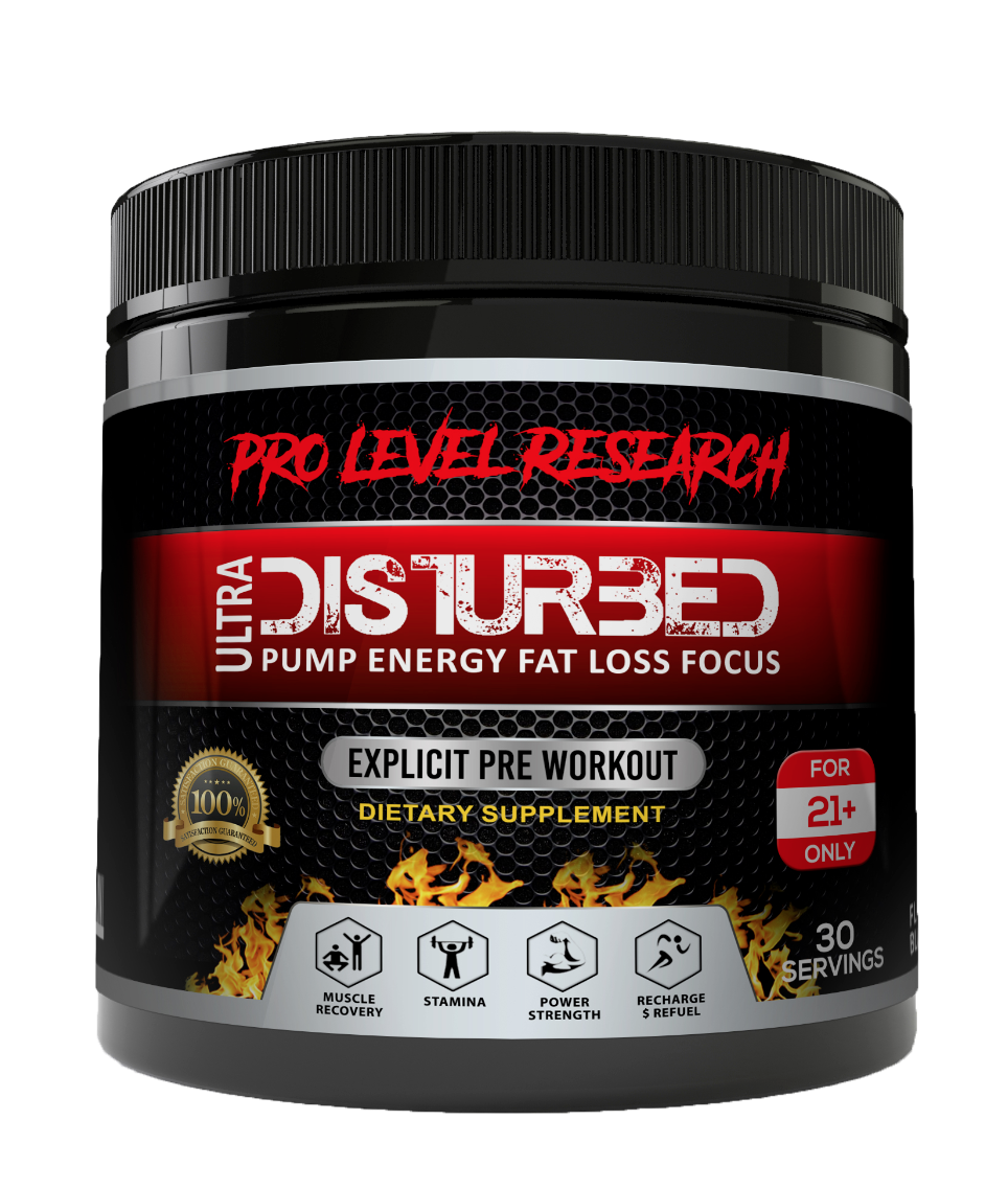 PRO-LEVEL RESEARCH - DISTURBED ULTRA STRENGTH THERMOGENIC PR