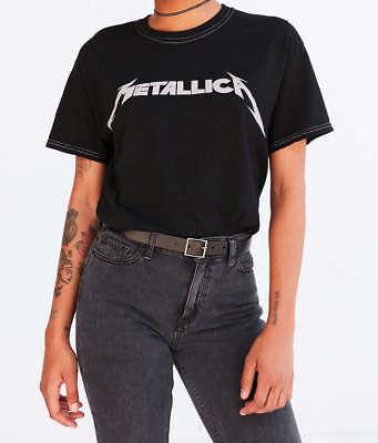 Metallica Bravado T-Shirt Tee Rock Band Concert Black Stitch Fashion Cool NWT