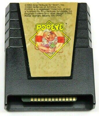 POPEYE (Atari 400/800/XL/XE, 1983) By Parker Bros. (Cartridge Only) NTSC
