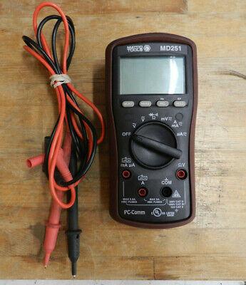 Matco Tools Md251 Pc-comm Multi Meter