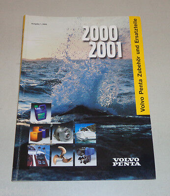 Volvo Penta Catalogue for Accessories and Spare Parts Edition 1/2000