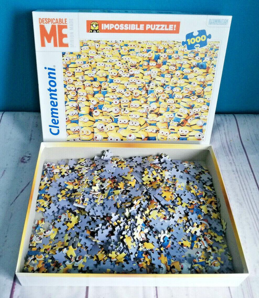 Minions Impossible Puzzle 1000 Teile Clementoni Despicable Me