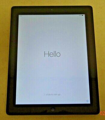 Apple iPad 3rd Gen. 32GB, A1416, MC706LL/A, Wi-Fi, 9.7in - Black