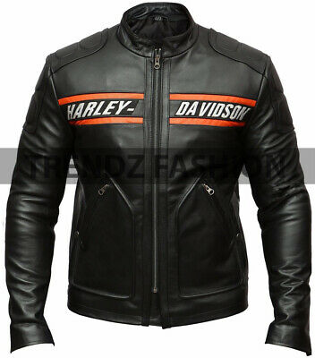 WWE Bill Goldberg Harley Davidson Leather Jacket (All Sizes) Fast Shipping