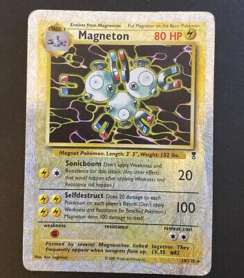 2002 Pokemon TCG Legendary Collection Magneton Reverse Holo Rare 28/110