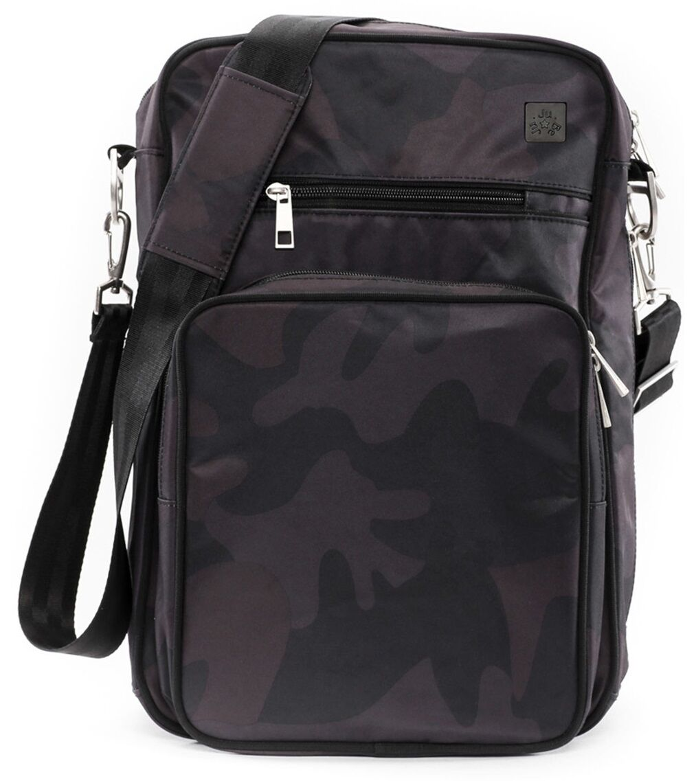 Infant Ju-Ju-Be Helix Onyx Collection Messenger Diaper Bag -