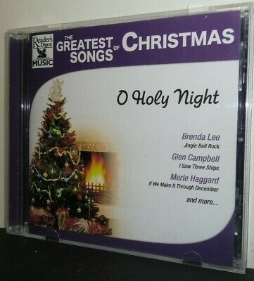 The Greatest Songs of Christmas: O Holy Night by Various Artists (CD, 2004)  - m