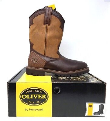 New! Men's Oliver Western Wellington Pull on Boot Ol10004 size 7  Brown W96 m Western Wellington Boot